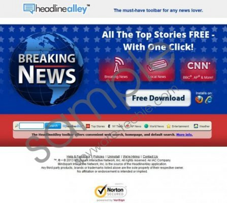 HeadlineAlley Toolbar Removal Guide