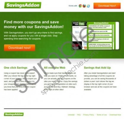 Savings Addon Removal Guide