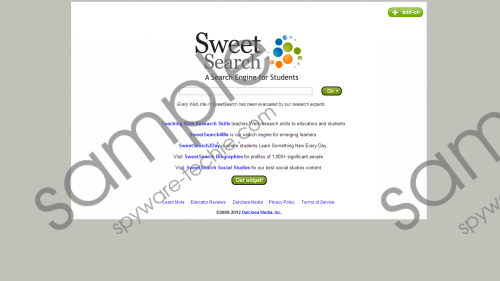 Sweetsearch.com Removal Guide