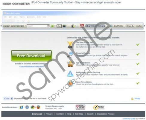 Video Converter Toolbar Removal Guide