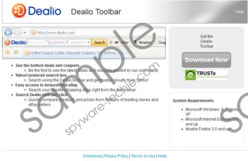 Dealio toolbar Removal Guide