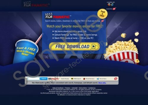 Filmfanatic toolbar Removal Guide