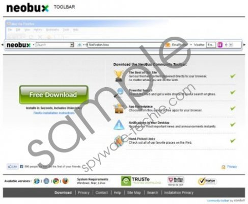 NeoBux Toolbar Removal Guide