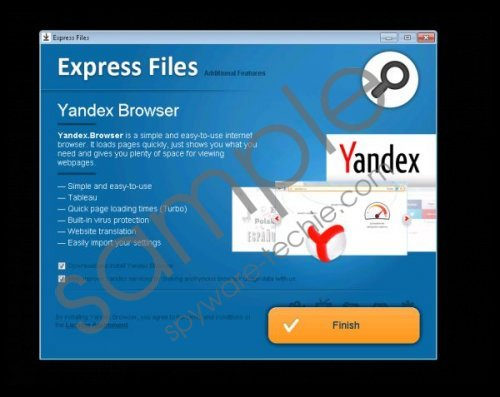 ExpressFiles Removal Guide