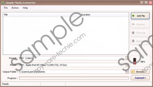 SimpleMediaConverter Removal Guide