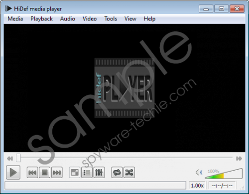 HiDef Media Player Removal Guide