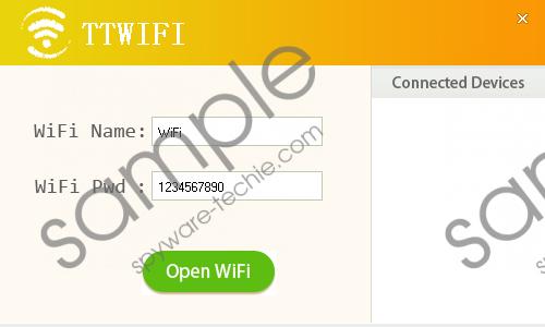 TTWiFi Removal Guide