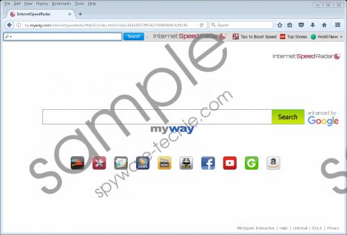InternetSpeedRadar Toolbar Removal Guide