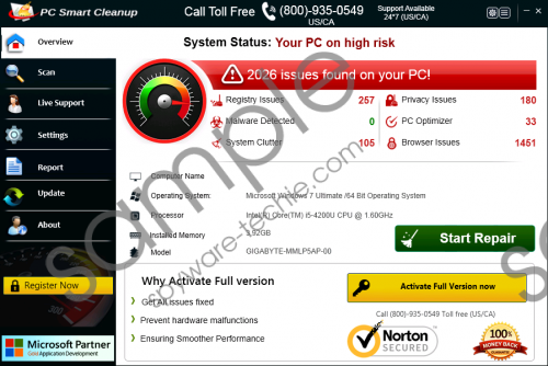 PC Smart Cleanup Removal Guide