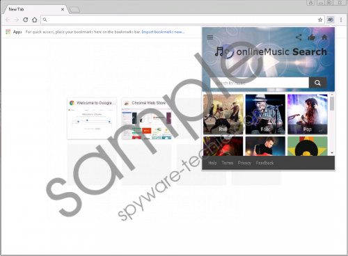 OnlineMusic Search Removal Guide