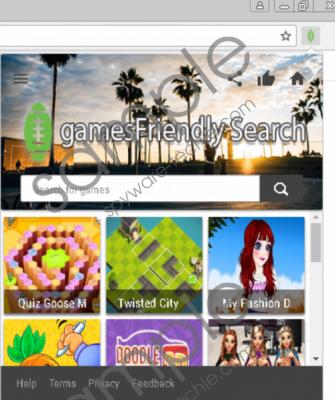 GamesFriendly Search Removal Guide