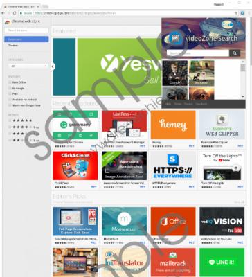 videoZone Search Removal Guide