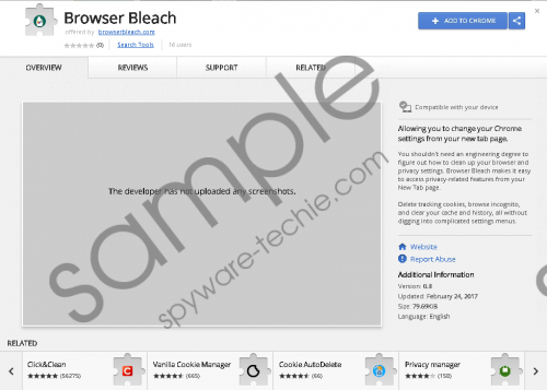 Browser Bleach Removal Guide