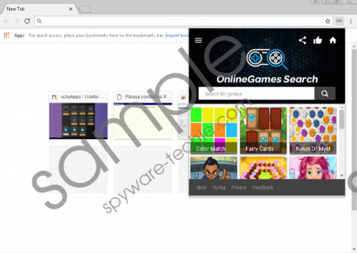 onlineGames Search Removal Guide