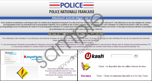 Police Nationale Virus Removal Guide
