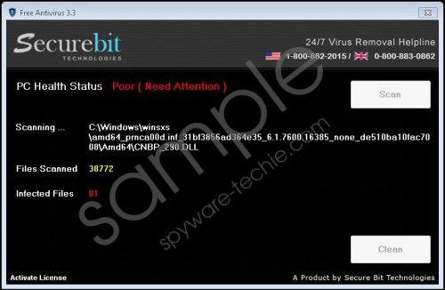 Securebit Technologies Free Antivirus Removal Guide