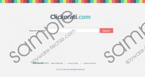 Clickorati.com Removal Guide