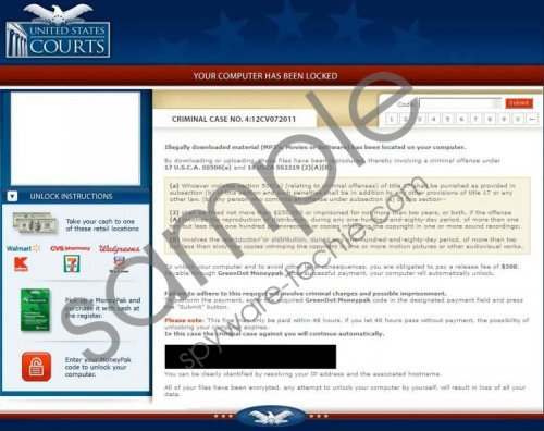 United States Courts Virus Removal Guide
