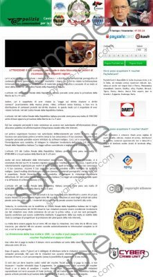 Arma dei Carabinieri Virus Removal Guide