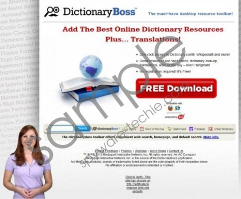 DictionaryBoss Toolbar Removal Guide