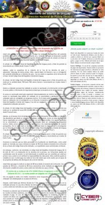 Ministerio del Interior de Uruguay virus Removal Guide