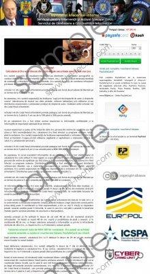 Ministerul Afacerilor Interne virus Removal Guide