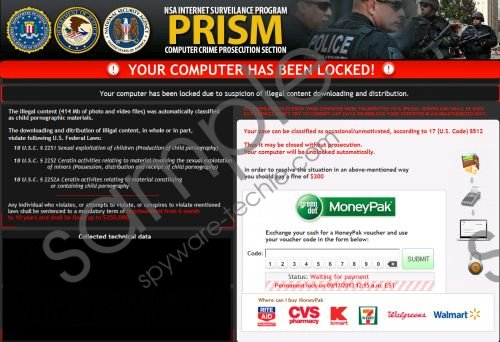 NSA Internet Surveillance Program Virus Removal Guide