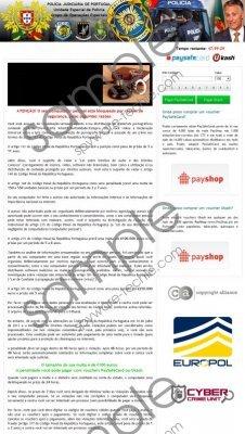 Polícia Judiciária de Portugal Virus Removal Guide