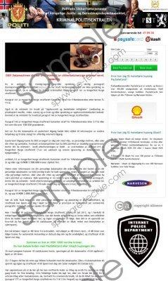 Politiets Sikkerhetstjeneste Virus Remvoal Guide