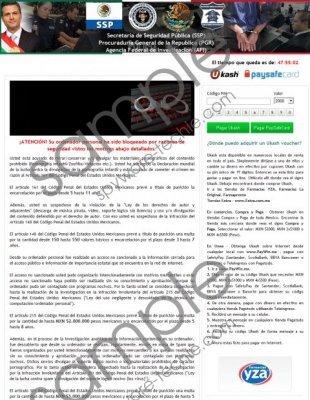 Secretaria de Seguridad Publica Virus Removal Guide