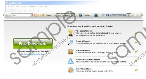 Trustworthy Toolbar Removal Guide