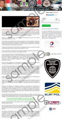 Unite Speciale de la Police (USP) Virus Removal Guide