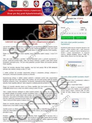 Útvar pro Boj proti Kyberkriminality Virus Removal Guide