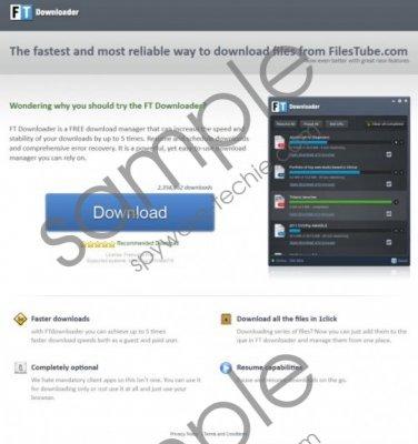 FTDownloader Removal Guide