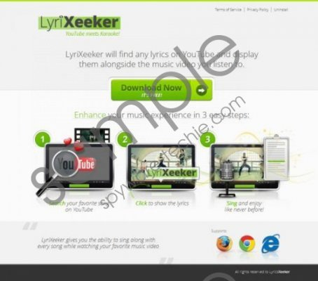 Lyrixeeker.co Removal Guide