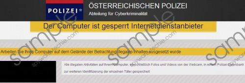 Österreichischen Polizei Virus Removal Guide