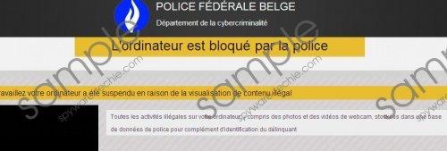 Police Fédérale Belge Virus Removal Guide