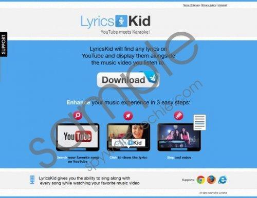 LyricsKid Removal Guide