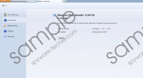 Magnet Downloader Removal Guide