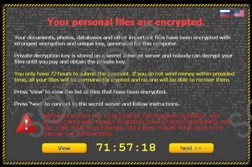 Crypto Ransomware Removal Guide