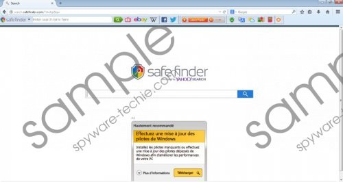 Search.SafeFinder.com Removal Guide