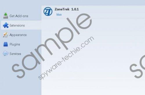 ZoneTrek Removal Guide