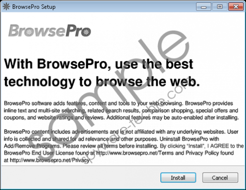 BrowsePro Removal Guide
