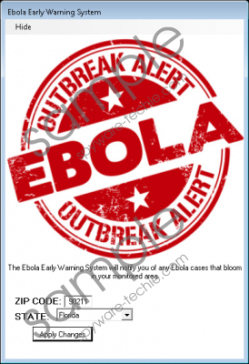 Ebola Early Warning System Removal Guide