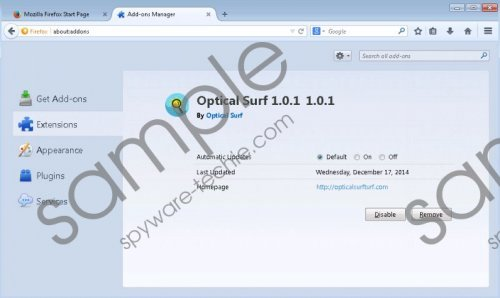 Optical Surf Removal Guide