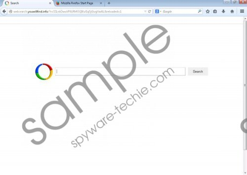 Websearch.youwillfind.info Removal Guide