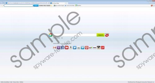 InternetSpeedTracker Toolbar Removal Guide