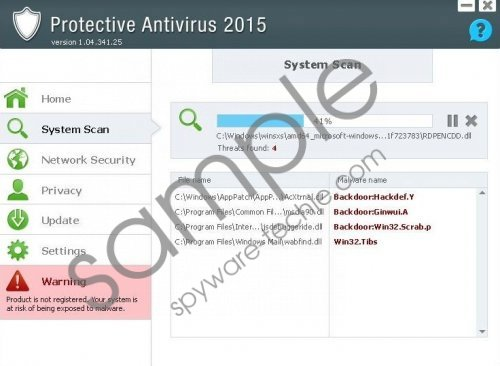 Protective Antivirus 2015 Removal Guide