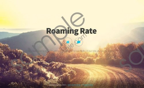 Roaming Rate Removal Guide