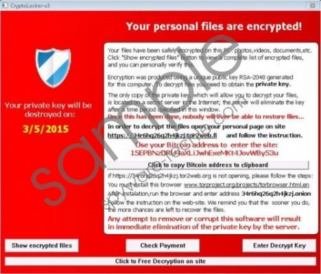 TeslaCrypt Ransomware Removal Guide
